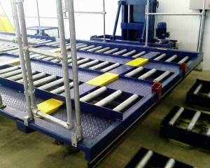 maintenance services, rolling racking, roller bed conveyors