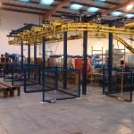maintenance Engineering, distribution centre, mail distribution system, mail bag system, mail bag hanging system, metal fabrication companies