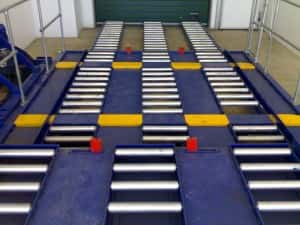 roller bed system, warehouse roller beds, roller bed installation, roller bed refurbishment,
