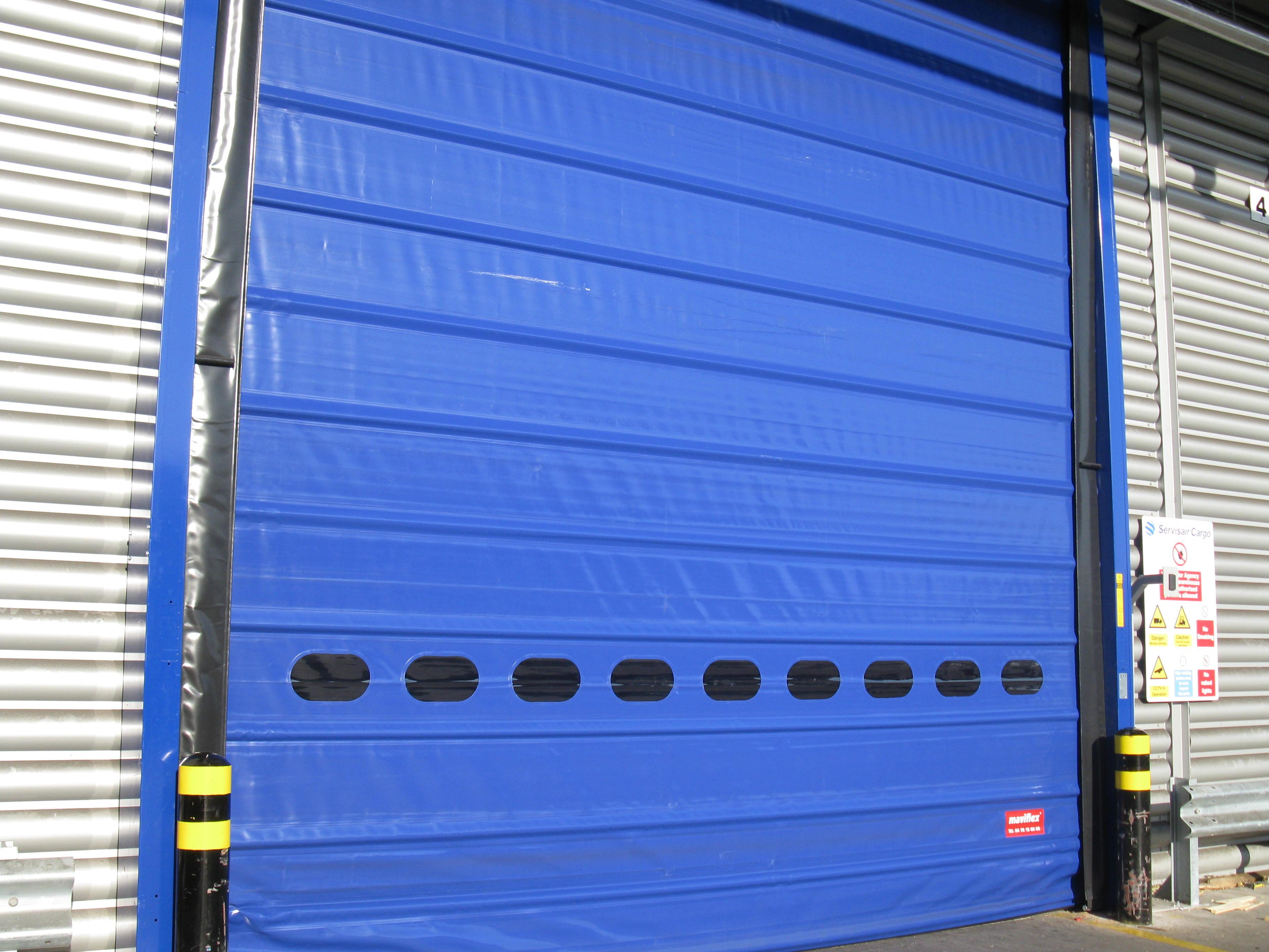 Warehouse Doors collapsible door rapid door shutter & Rapid Doors - 4 Maintenance Engineering