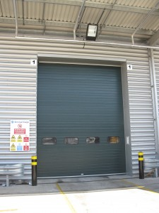 Sectional door installation, warehouse doors, sectional doors,